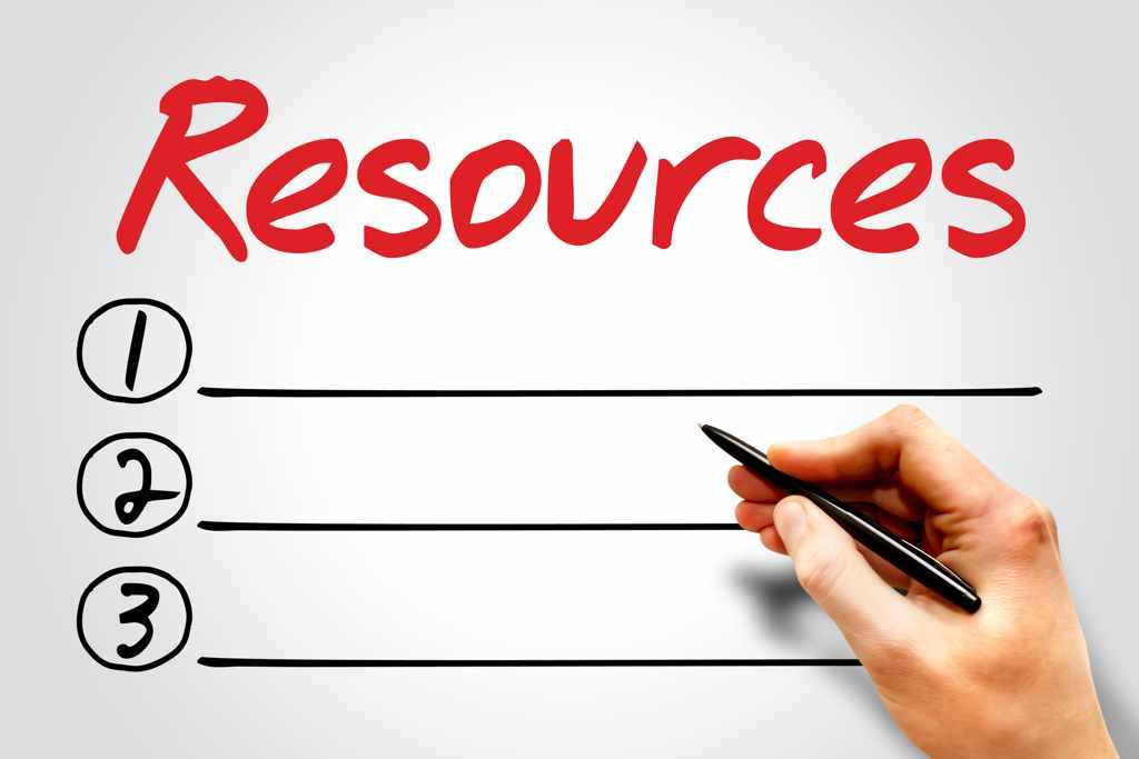 Build a Resources List